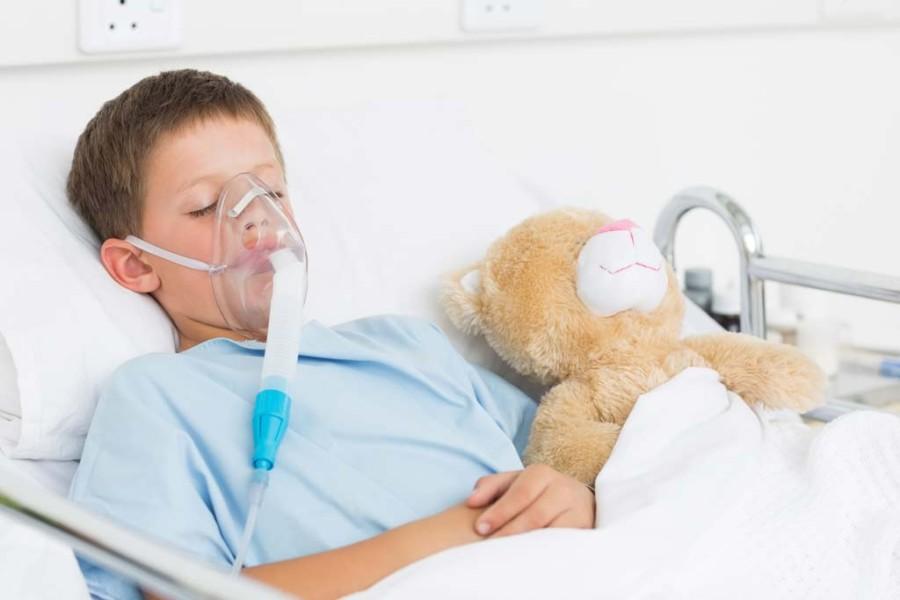 Copil-bolnav