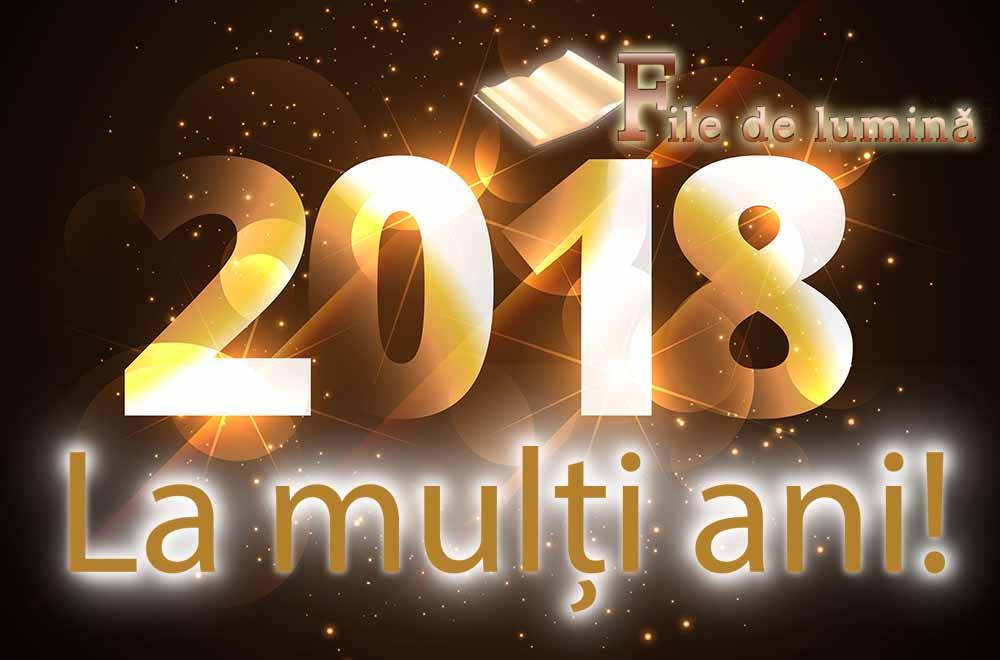 La Multi Ani 2018 !