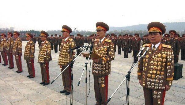 Generali din Corea de Nord